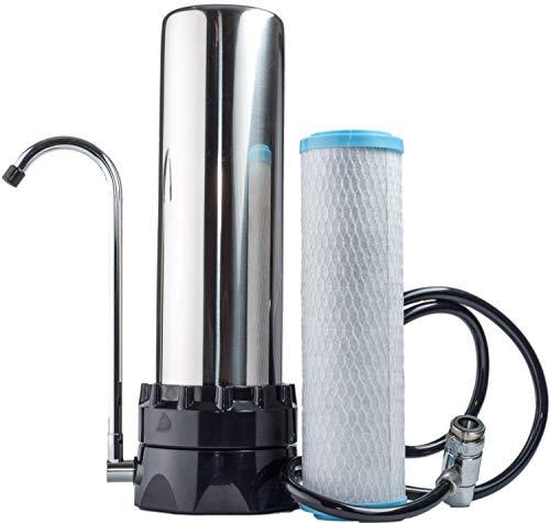 - Lake Industries The Stainless Steel Countertop Water Purifier Filter (KDF Cartridge)