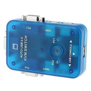 Makerfire 2 Port USB2.0 to KVM Auto Switch for PC MT-272UK DIY