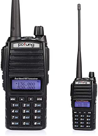 BaoFeng Pofung UV-82 Dual-Band 136-174 400-520 MHz FM Ham Two-Way Radio, Transceiver – 2-Pack
