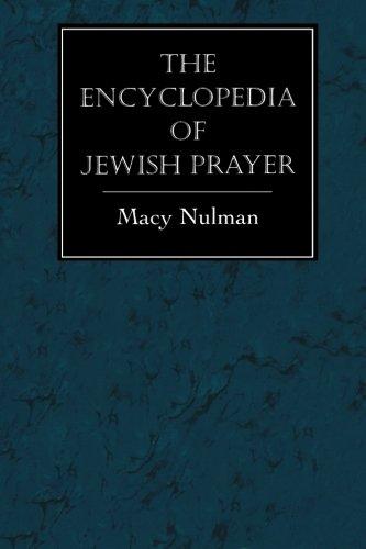 The Encyclopedia of Jewish Prayer: The Ashkenazic and Sephardic - City Macys Jersey