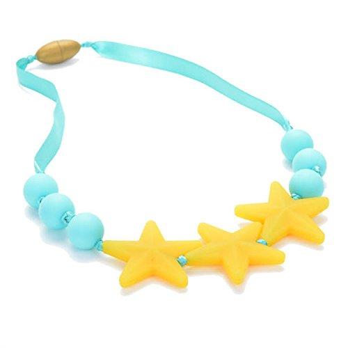 (Juniorbeads Broadway Jr. Teething  Beads (Glow in the Dark) - Lemon)