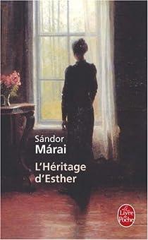 L'Héritage d'Esther par Márai