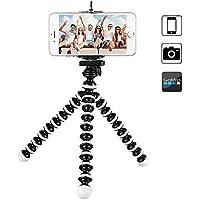 Knmaster Tüm Aksiyon Kameralara Uyumlu Mini Ahtapod Tripod Unisex, Siyah Beyaz, Tek Beden
