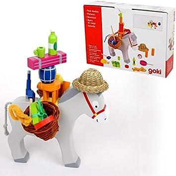Goki Juego de Mesa Estrategia y destreza Burro DE Carga Niños + 5 años: Amazon.es: Juguetes y juegos