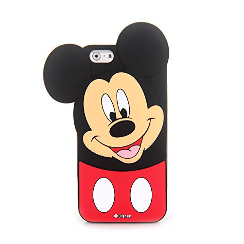 CHOCOCASE Black 3D Mouse Case for iPhone 6 / iPhone 6s 4.7