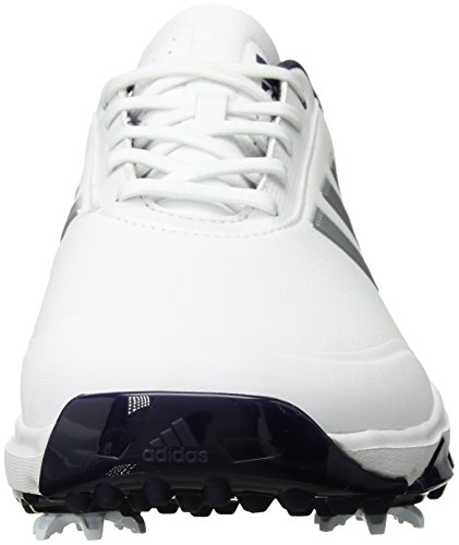 adidas Golf Mens Adipower Bounce Golf-Shoes Ftwr White/Silver Met./Noble Ink Fabric YmN4q2