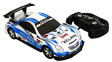 Bezrat Super-Fast Drift King R/C Sports Car Remote Control Drifting Race Car (colors may vary)