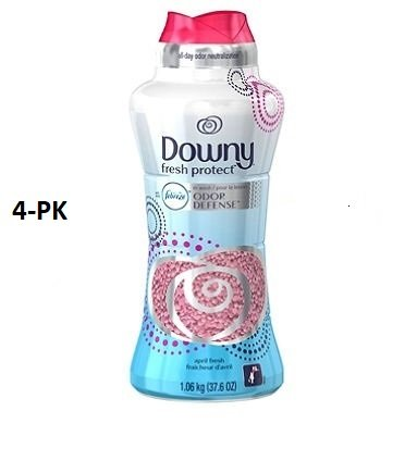 Downy Fresh Protect April Fresh In-Wash Odor Shield Scent Booster (37.6 oz.) (4) by Downy
