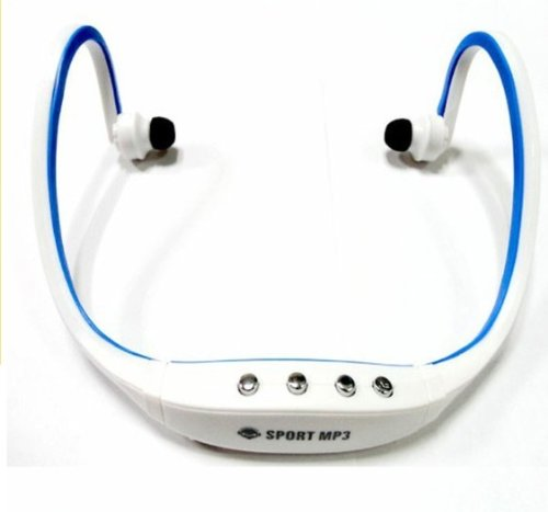Sport Mp3 Player Wireless Fm Radio Headset Headphones Earphone Auricular Micro Sd Tf Card New 2013