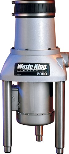 Waste King 2000-3 2 HP Commercial Food Waste Disposer by Waste King