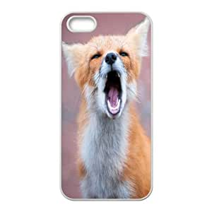 ZK-SXH - Red fox singing Brand New Durable Cover Case Cover for iPhone 5,5G,5S,Red fox singing Cheap Cover Case