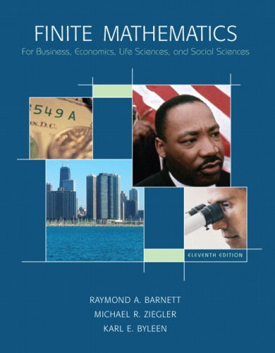 Finite Mathematics for Business, Economics, Life Sciences and Social Sciences Value Package (includes FINITE MATH Studen
