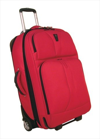 delsey-40277rd25vp-helium-hyper-lite-25-in-vertical-pullman-luggage-red