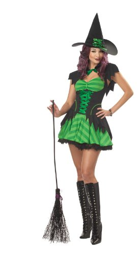 California Costumes Women's Hocus Pocus Costume, Black/Green, Small