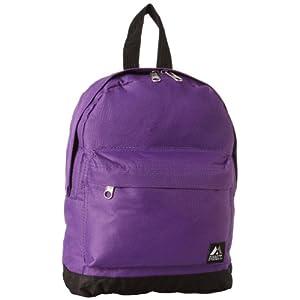 Everest Junior Backpack, Dark Purple, One Size