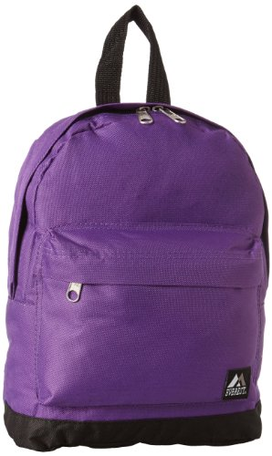 Everest Junior Backpack, Dark Purple, One (Everest Bags Backpack)