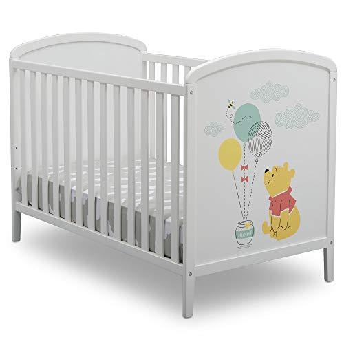 (Disney Winnie The Pooh 3-in-1 Convertible Baby Crib by Delta Children)