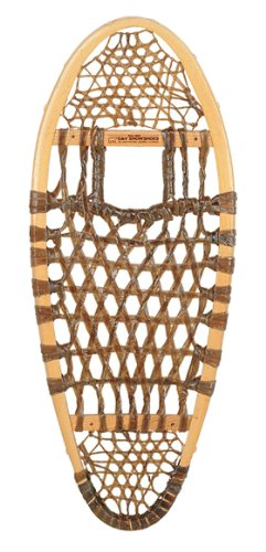 GV Snowshoes Bear Paw Rawhide Snowshoes