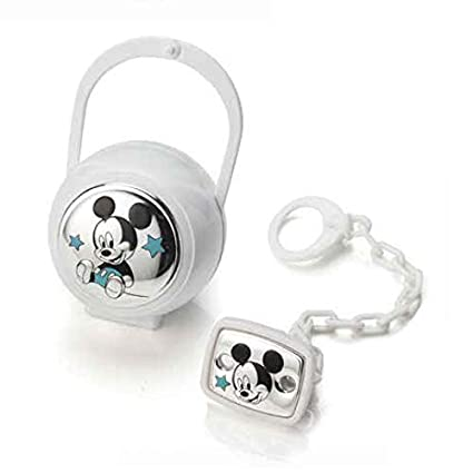 Valenti & Co - Disney Mickey - Clip chupete, cadena ...