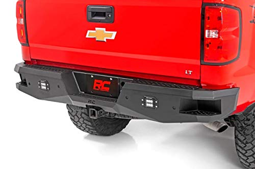 Rough Country Heavy-Duty Rear LED Bumper for 07-18 Chevy Silverado 1500