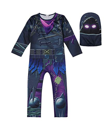 YOUYAN Kids Game Costume Pajamas Sets Children Halloween Cosplay (130, a)