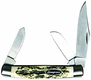 Snap-On 5212 Small Stockman Three-Blade Pocket Knife