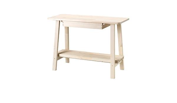 Ikea Birch Credenza : Amazon ikea norraker sideboard white birch kitchen dining