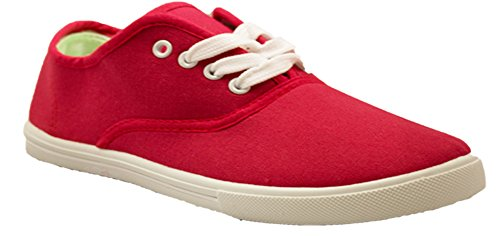 kids-tie-up-slip-on-canvas-sneakers-with-laces-for-children-girls-and-boys-kids-toddlers-4-kids-red