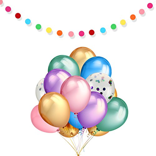 Confetti Balloons are great for any party
