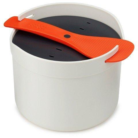 Joseph Joseph® M-Cuisine Microwave Rice Cooker – Orange/Stone