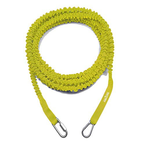 Marine Boat Anchor Bungee Line 25' Long, Made in America (Yellow)