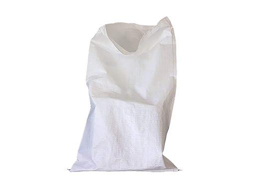 Bolsas de polipropileno blanco de 50 x 80 cm, embalaje de ...