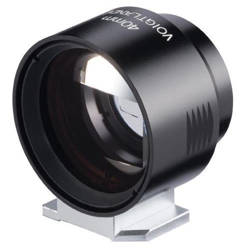 Voigtlander Viewfinder M Optical Viewfinder for 40mm f/1.2 Lens, Black by Voigtlander