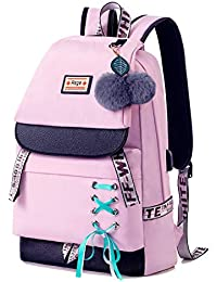 Backpack for Girls Kids Schoolbag Children Bookbag Women Casual Daypack