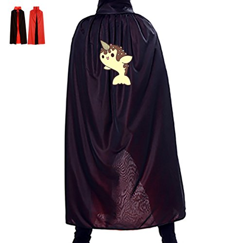 Plus Size Dolphin Costumes (Unisex Halloween Cloak Unicorn Dolphin Doughnut Witch Hoodies Cosplay Dress Up Birthday Party Costume)