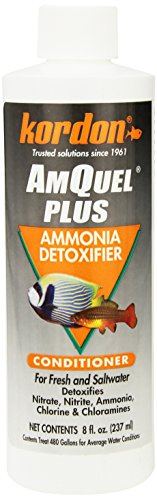 Kordon  #33448 Amquel Plus - Ammonia Detoxifier for Aquarium, 8-Ounce