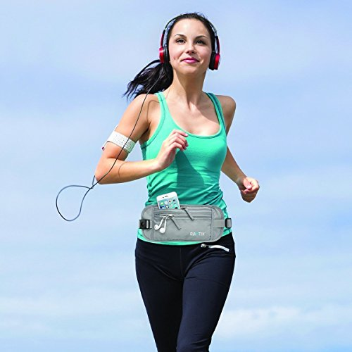 Raytix Travel Money Belt With RFID Transmissions –Secure, Hidden Travel Wallet