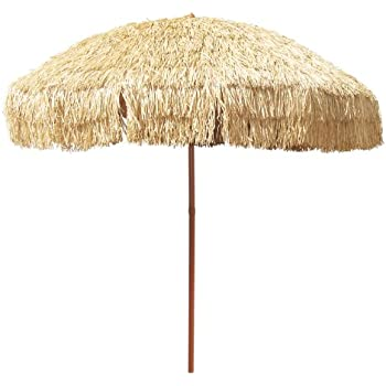 Amazon Com 8 Foot Deluxe Tropical Island Thatched