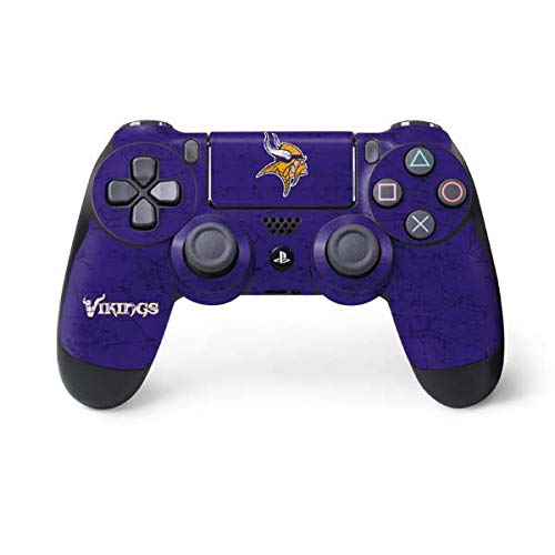 NFL Minnesota Vikings Distressed Skin for Sony PlayStation 4/ PS4 Dual Shock4 Controller ()