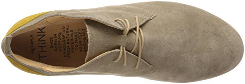 Think! Herren Mandl_282643 Oxfords Beige (Macchiato/Kombi 25)