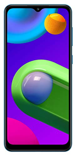 Samsung Galaxy M02 (Blue,3GB RAM, 32GB Storage)