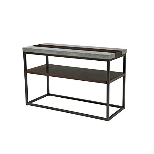 Inlay Top Sofa Table - Artum Hill TA1-359 Rockwell Sofa Table, Merlot