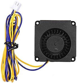 Aibecy 4010 Ventilador sin escobillas Ventilador Ventilador Turbo 40 * 40 * 10mm 24V DC con rodamiento de bolas Conector de 2 pines para Creality 3D CR-8S Ender 3 Impresora 3D Extrusora Hotend
