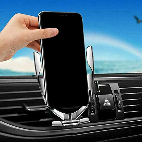 Bcamelys Wireless Car Charger,10W Qi Fast Charging Auto-Clamping Car Mount Air Vent Phone Holder Compatible Infrared Sensor Car Phone Holder