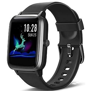 Blackview Montre Connectée Femmes Homme Smartwatch Montre Sport Podometre Cardiofrequencemètre Montre Intelligente…