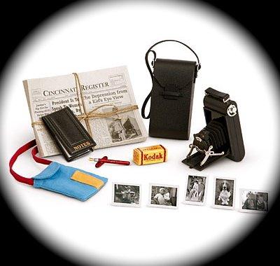 American Girl Kit's Reporter Set for 18