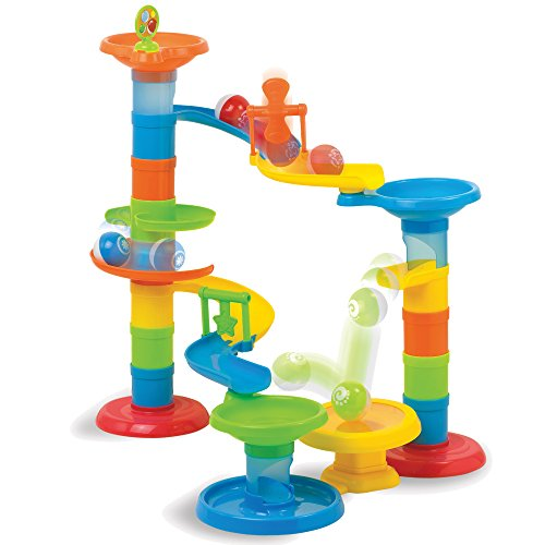Fat Brain Toys Roll & Bounce Tower by Fat Brain Toys