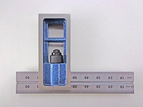 - PEC Tools Metric 100 mm Double Machinist Square accurate +/- 0.001