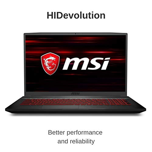 Compare HIDevolution MSI GF75 Thin 9SC (MS-GF75278-HID8) vs other laptops