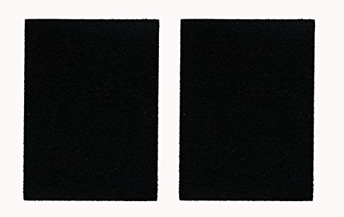 2 Die Cut Rectangles Loop Fastener with Iron/Sew On Backing for Embroidered patches Jackets 4x3 inches